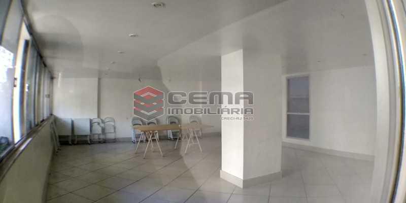 Salão de festas - Apartamento 1 quarto para alugar Laranjeiras, Zona Sul RJ - R$ 1.500 - LAAP12998 - 20