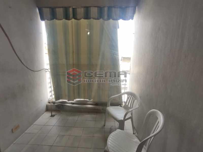 varanda - Excelente Flat MOBILIADO no Centro - LAFL10081 - 10