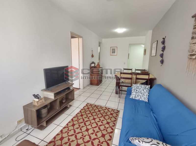 sala - Excelente Flat MOBILIADO no Centro - LAFL10081 - 5