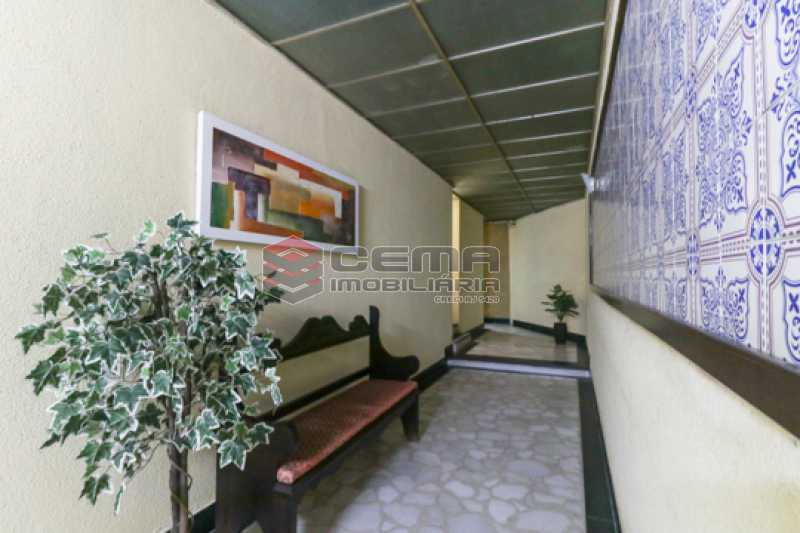 entrada - Excelente Apartamento 2 quartos com suite e closet em Laranjeiras - LAAP25385 - 10