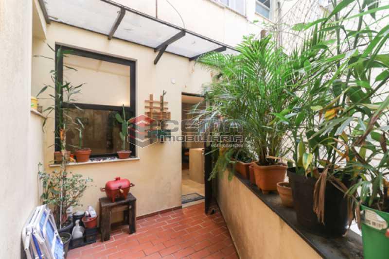 varanda - Excelente Apartamento 2 quartos com suite e closet em Laranjeiras - LAAP25385 - 27