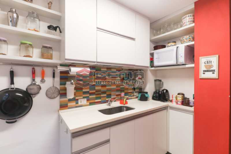 cozinha - Excelente Apartamento 2 quartos com suite e closet em Laranjeiras - LAAP25385 - 24