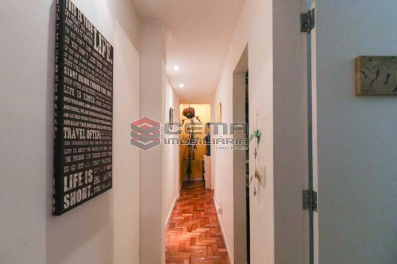 corredor - Excelente Apartamento 2 quartos com suite e closet em Laranjeiras - LAAP25385 - 13