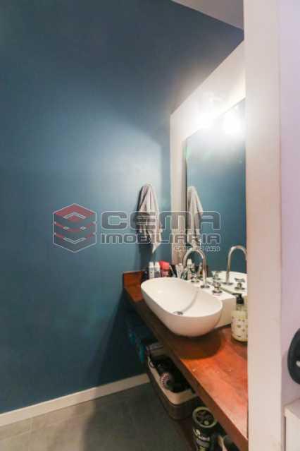banheiro suite - Excelente Apartamento 2 quartos com suite e closet em Laranjeiras - LAAP25385 - 17