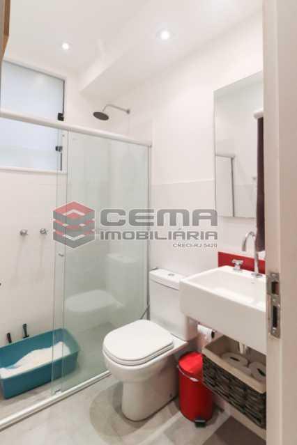 banheiro social - Excelente Apartamento 2 quartos com suite e closet em Laranjeiras - LAAP25385 - 20