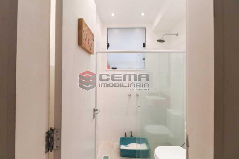 banheiro social - Excelente Apartamento 2 quartos com suite e closet em Laranjeiras - LAAP25385 - 19