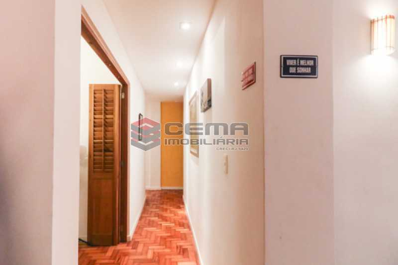 corredor - Excelente Apartamento 2 quartos com suite e closet em Laranjeiras - LAAP25385 - 12
