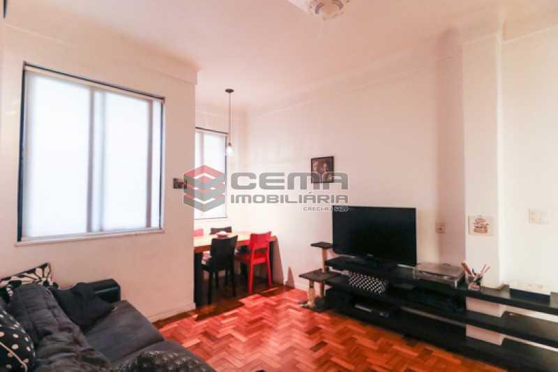 sala - Excelente Apartamento 2 quartos com suite e closet em Laranjeiras - LAAP25385 - 4