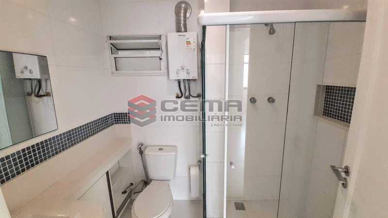 Banheiro - Apartamento 1 quarto para alugar Laranjeiras, Zona Sul RJ - R$ 2.000 - LAAP13017 - 8