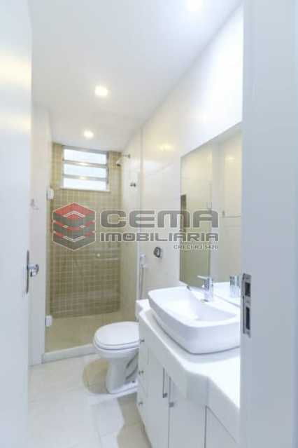 banheiro social - Excelente quarto e sala com vaga em BOTAFOGO - LAAP13019 - 13
