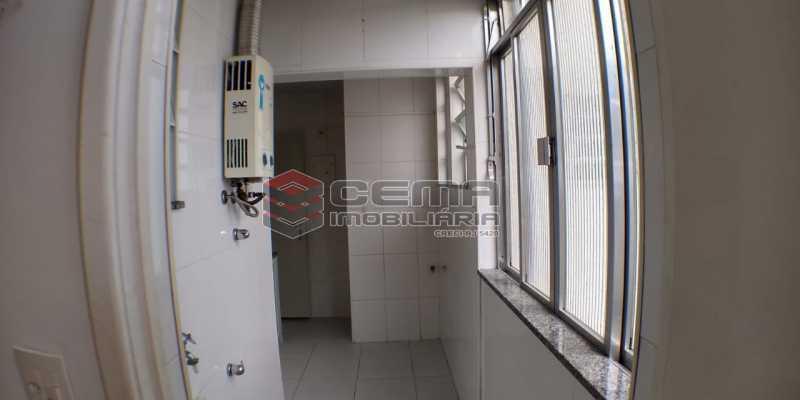 Área de serviço - Apartamento 2 quartos para alugar Laranjeiras, Zona Sul RJ - R$ 1.700 - LAAP25409 - 19