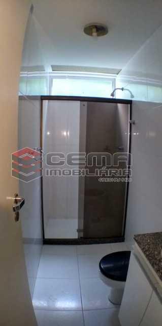 Banheiro Social  - Apartamento 2 quartos para alugar Laranjeiras, Zona Sul RJ - R$ 1.700 - LAAP25409 - 11