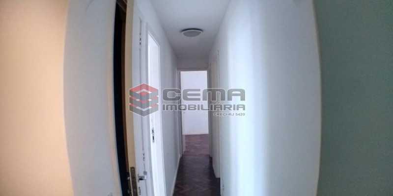 Corredor - Apartamento 2 quartos para alugar Laranjeiras, Zona Sul RJ - R$ 1.700 - LAAP25409 - 6