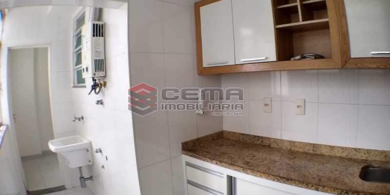 Cozinha - Apartamento 2 quartos para alugar Laranjeiras, Zona Sul RJ - R$ 1.700 - LAAP25409 - 16