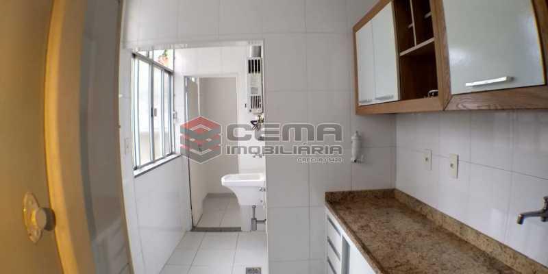 Cozinha - Apartamento 2 quartos para alugar Laranjeiras, Zona Sul RJ - R$ 1.700 - LAAP25409 - 17