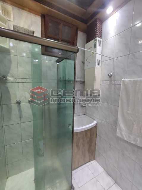 banheiro - Apartamento Quarto e sala MOBILADO no coração do FLAMENGO - LAAP13025 - 16