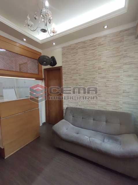 sala - Apartamento Quarto e sala MOBILADO no coração do FLAMENGO - LAAP13025 - 3