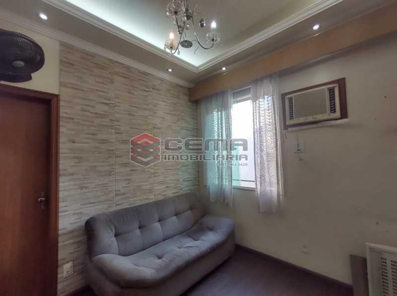 sala - Apartamento Quarto e sala MOBILADO no coração do FLAMENGO - LAAP13025 - 1