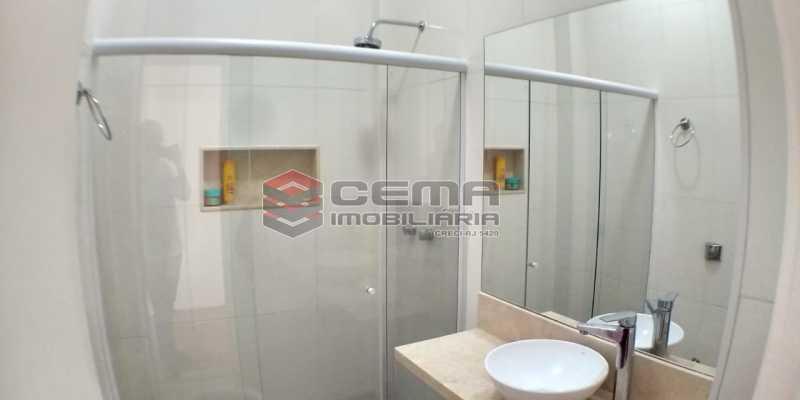 Banheiro  - Apartamento 1 quarto para alugar Catete, Zona Sul RJ - R$ 1.600 - LAAP13027 - 9