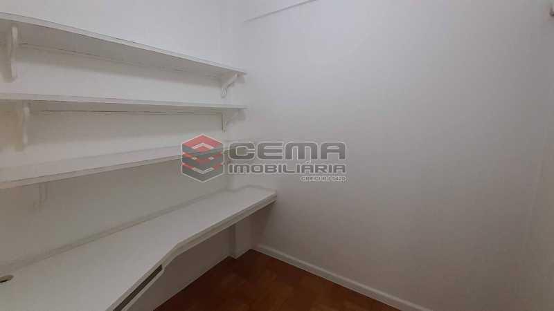 Dependência  - Apartamento 3 quartos para alugar Copacabana, Zona Sul RJ - R$ 4.300 - LAAP34615 - 21