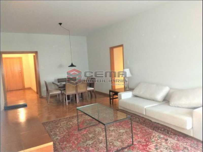 4.sala - Apartamento 3 quartos para alugar Leblon, Zona Sul RJ - R$ 7.500 - LAAP34616 - 6