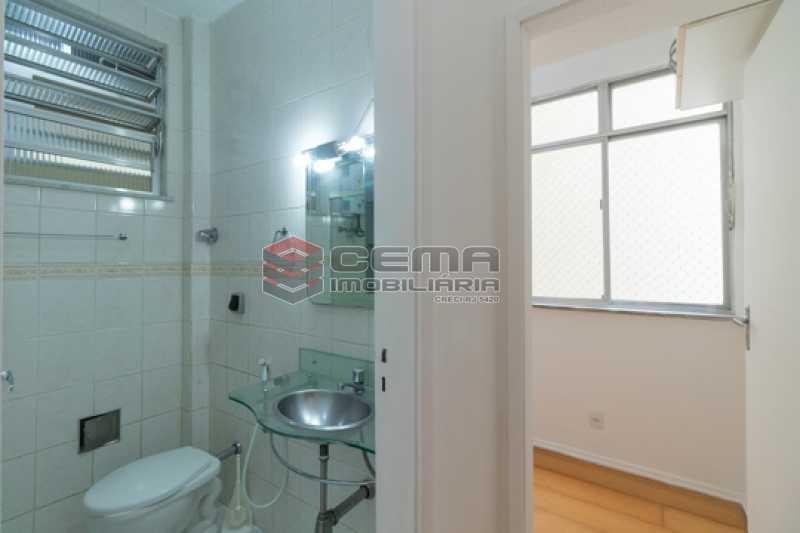 Banheiro - Apartamento 1 quarto para alugar Botafogo, Zona Sul RJ - R$ 1.800 - LAAP13059 - 12