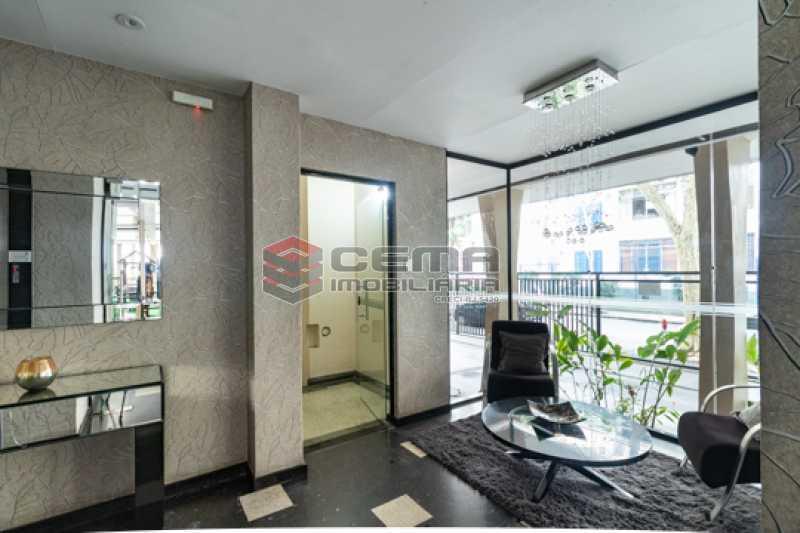 Portaria - Apartamento 1 quarto para alugar Botafogo, Zona Sul RJ - R$ 1.800 - LAAP13059 - 25