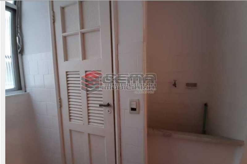 7.2.área - Apartamento 1 quarto para alugar Laranjeiras, Zona Sul RJ - R$ 1.500 - LAAP13061 - 17
