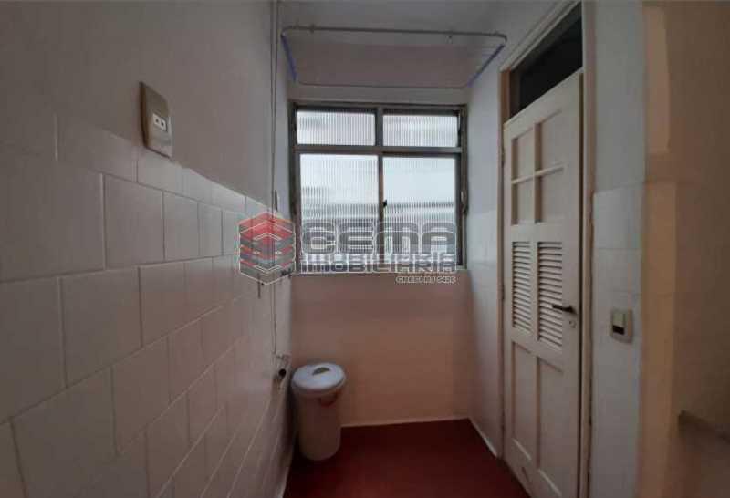 7.área - Apartamento 1 quarto para alugar Laranjeiras, Zona Sul RJ - R$ 1.500 - LAAP13061 - 18