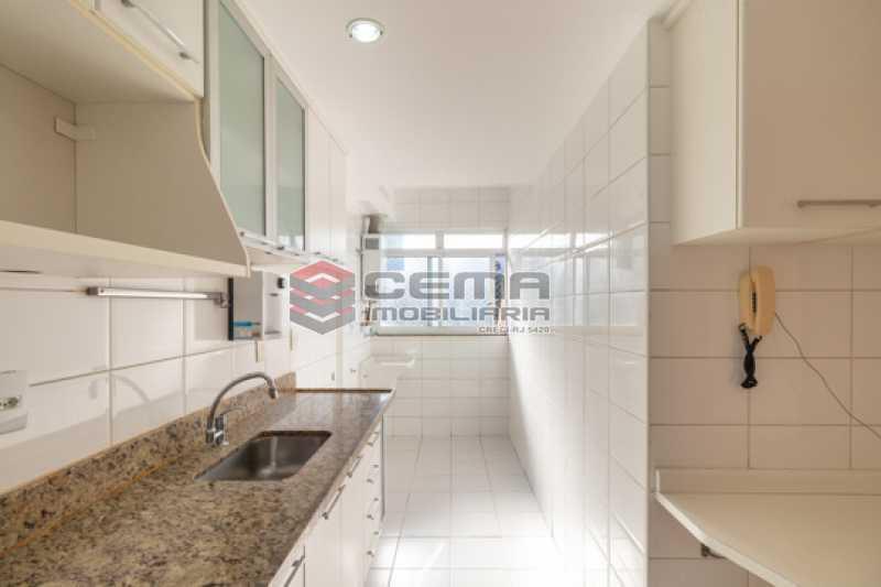 cozinha - Quartier Carioca. Apartamento 3 quartos com suíte e vaga no Catete - LAAP34624 - 24