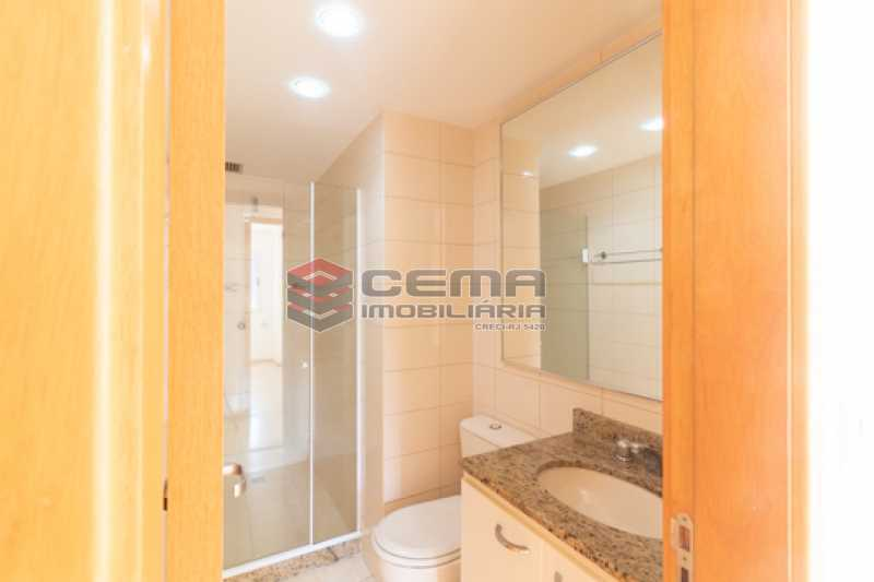 banheiro 2  - Quartier Carioca. Apartamento 3 quartos com suíte e vaga no Catete - LAAP34624 - 19