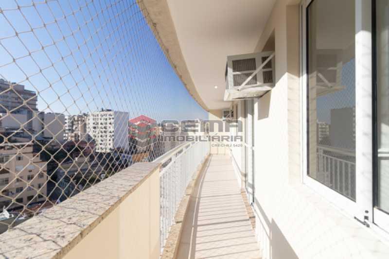 varandão - Quartier Carioca. Apartamento 3 quartos com suíte e vaga no Catete - LAAP34624 - 3