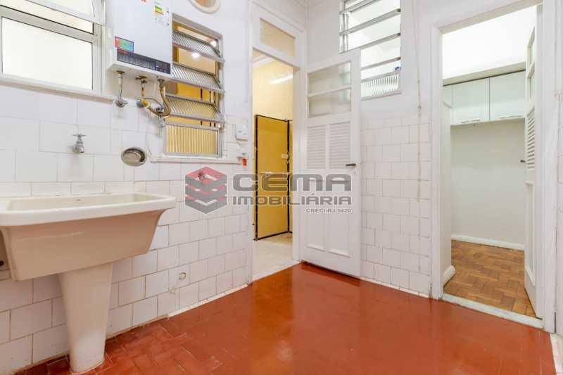 area e dependencia - Excelente oportunidade, na Rua Leopoldo Miguez, 3 quartos com vaga em Copacabana - LAAP34628 - 13