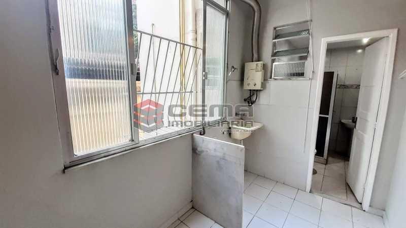 Área de Serviço - Apartamento para alugar Rua Benjamim Constant,Glória, Zona Sul RJ - R$ 1.300 - LAAP13072 - 11