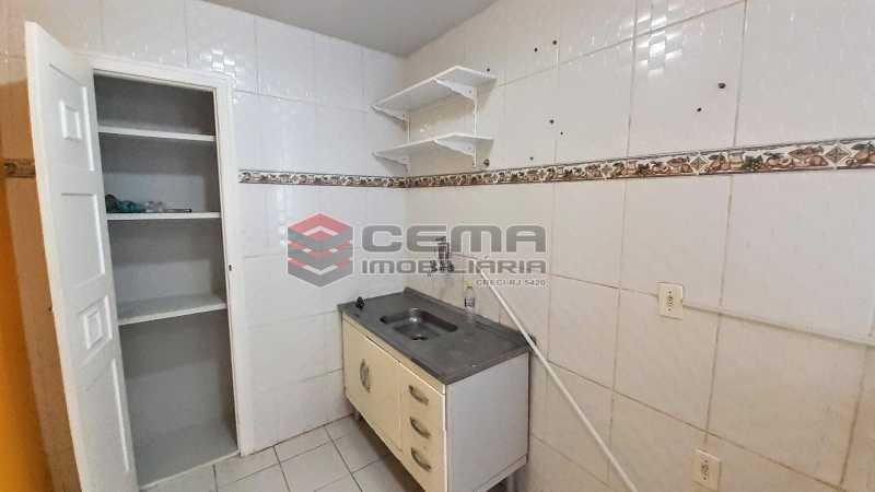 Cozinha - Apartamento para alugar Rua Benjamim Constant,Glória, Zona Sul RJ - R$ 1.300 - LAAP13072 - 8
