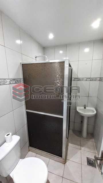 Banheiro - Apartamento para alugar Rua Benjamim Constant,Glória, Zona Sul RJ - R$ 1.300 - LAAP13072 - 9