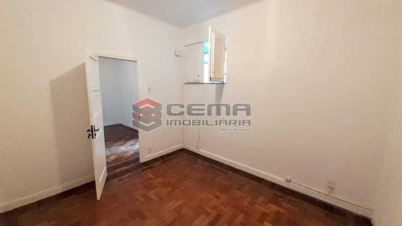 Quarto  - Apartamento para alugar Rua Benjamim Constant,Glória, Zona Sul RJ - R$ 1.300 - LAAP13072 - 6