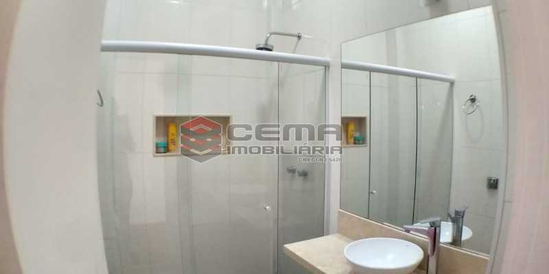 Banheiro - Apartamento 1 quarto à venda Catete, Zona Sul RJ - R$ 425.000 - LAAP13073 - 11