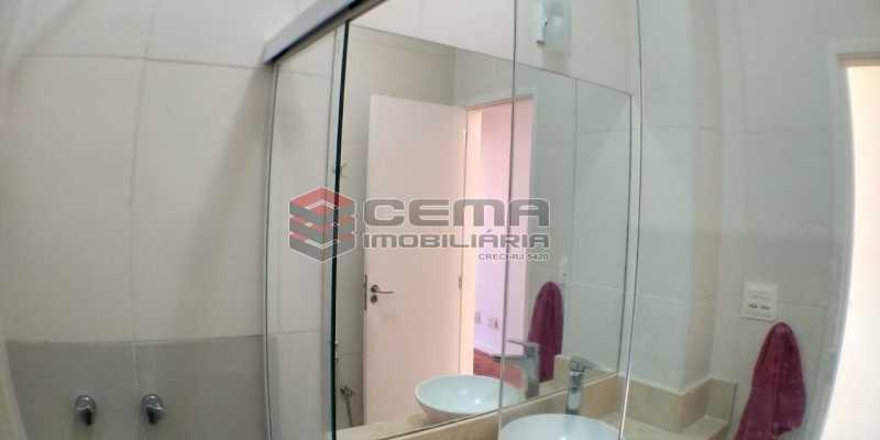 Banheiro - Apartamento 1 quarto à venda Catete, Zona Sul RJ - R$ 425.000 - LAAP13073 - 12
