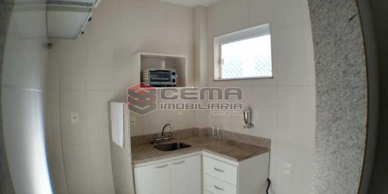 Cozinha - Apartamento 1 quarto à venda Catete, Zona Sul RJ - R$ 425.000 - LAAP13073 - 14