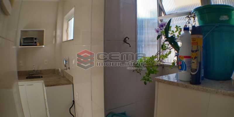 Área de serviço - Apartamento 1 quarto à venda Catete, Zona Sul RJ - R$ 425.000 - LAAP13073 - 18