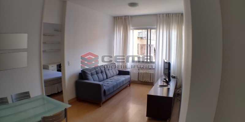 Sala - Flat 1 quarto para alugar Botafogo, Zona Sul RJ - R$ 2.500 - LAFL10084 - 5