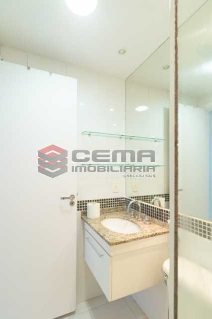 Banheiro Suíte - Flat em Boatafogo-RJ - LAFL20035 - 13