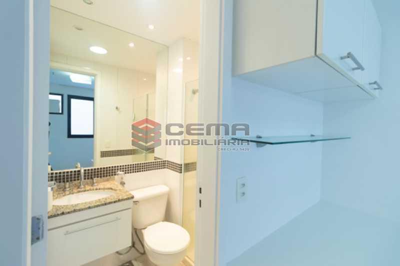 Banheiro Suíte - Flat em Boatafogo-RJ - LAFL20035 - 14