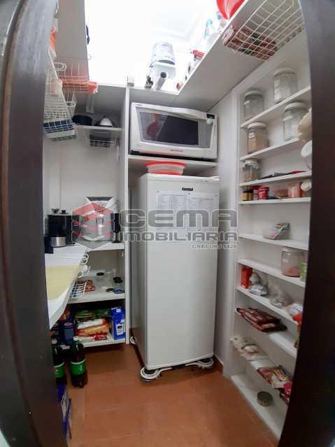 dispensa  - Apartamento 3 quartos para alugar Copacabana, Zona Sul RJ - R$ 4.000 - LAAP34686 - 18