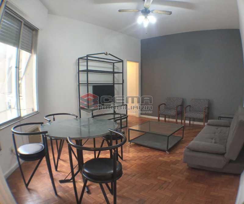 Sala - Apartamento 1 quarto para alugar Botafogo, Zona Sul RJ - R$ 2.500 - LAAP13146 - 4