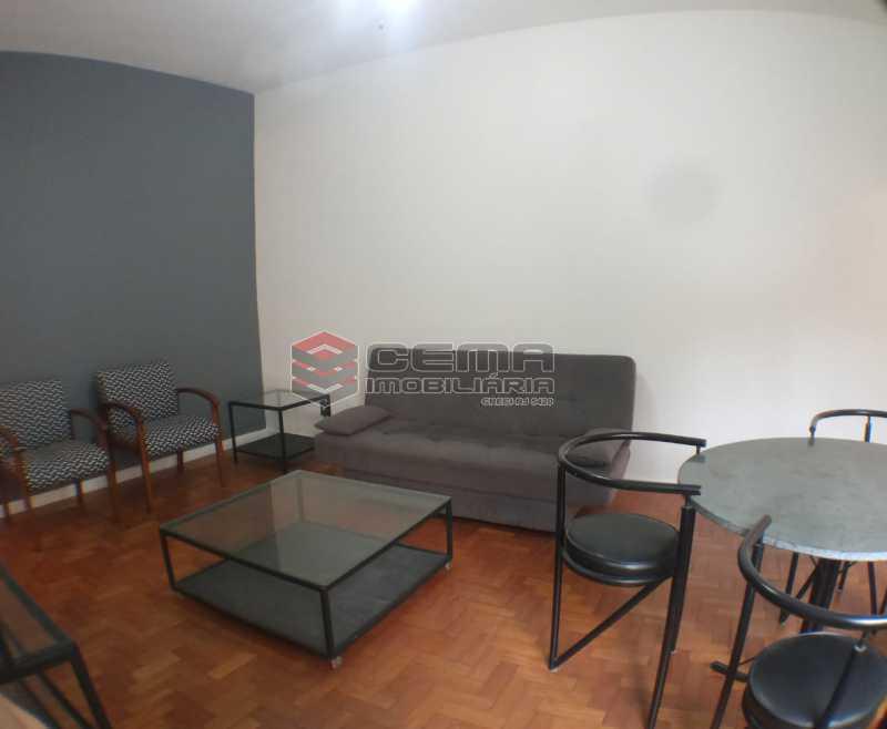 Sala - Apartamento 1 quarto para alugar Botafogo, Zona Sul RJ - R$ 2.500 - LAAP13146 - 3