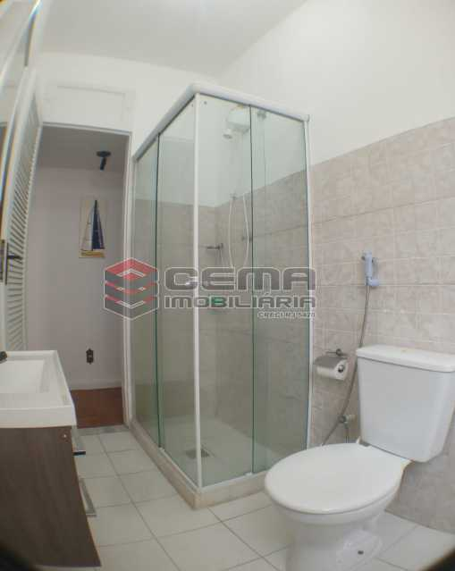 Banheiro - Apartamento 1 quarto para alugar Botafogo, Zona Sul RJ - R$ 2.500 - LAAP13146 - 14
