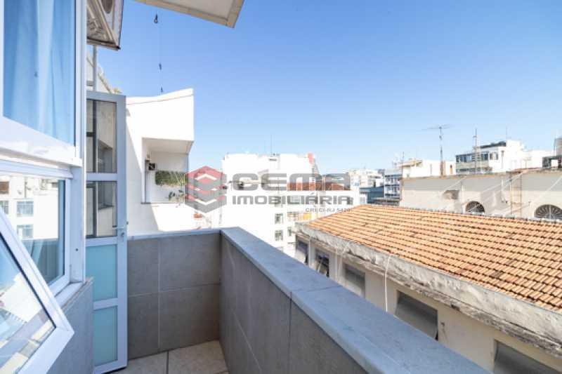 -15-1 - Quarto e sala com varanda no Catete - LAAP13115 - 16