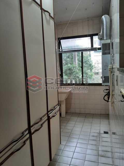 Área de serviço - Apartamento 2 quartos para alugar Laranjeiras, Zona Sul RJ - R$ 2.900 - LAAP25576 - 14